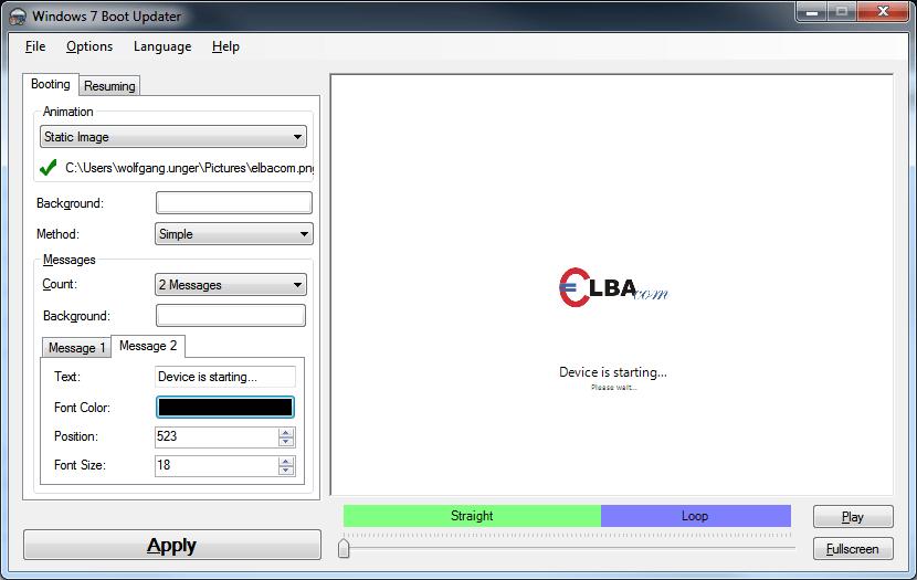 Windows 7 Boot Updater – Elbacom GmbH